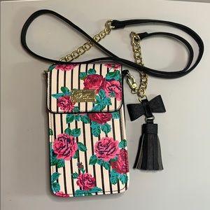 Betsey Johnson crossbody purse. NWOT